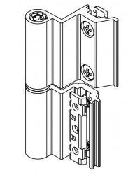 Cerniera Giesse Flash Base Terza Anta Camera Europea per Alluminio